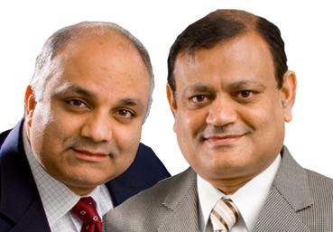 Professors Khurshid Guru and Thenkurussi Kesavadas