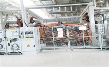 ABB PCS100 Active Voltage Conditioner (AVC) Protects Welding Robots at Automotive Giants Changchun Facility