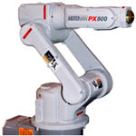 PX800 Compact Coating Robot from Motoman Robotics