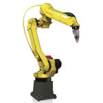 Motoman Robot Laser Cutting Auto Bumpers from Yaskawa America, Inc.