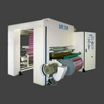 WIR OHP 400 Web Inspection and Rewinding Machine from Ultraflex Systems Pvt. Ltd.