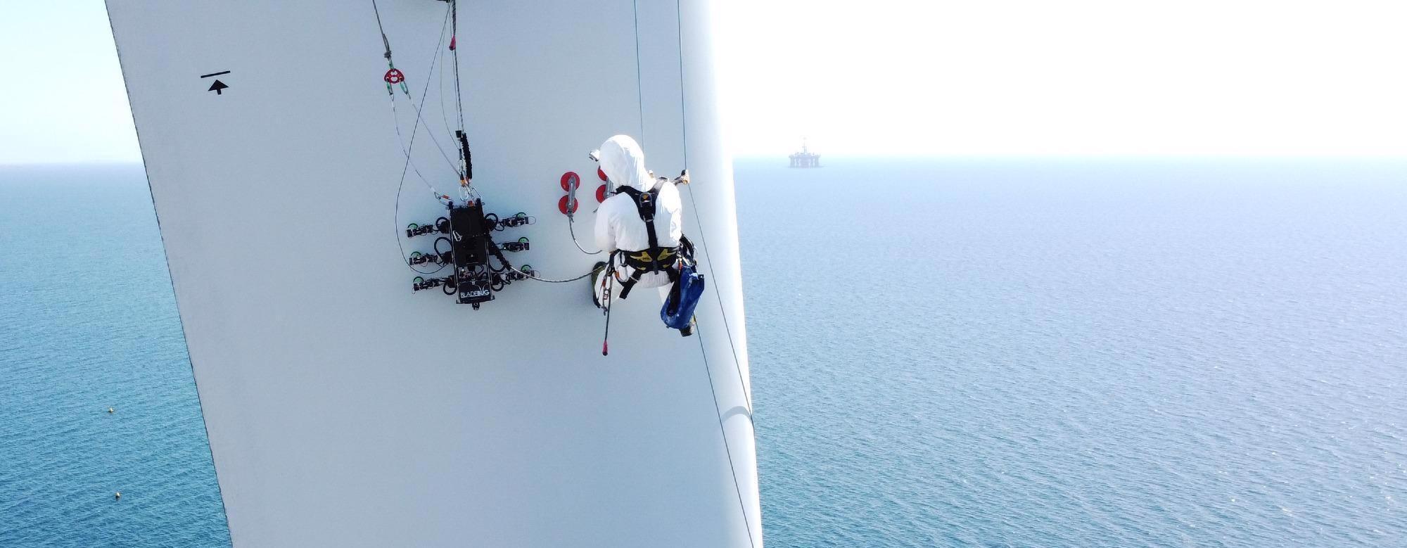 """英国技术先锋联合力量为风力部门的""""数百万计""""螺栓机器人解决方案"""