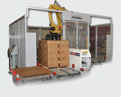 SmartCart AGV(Automatic Guided Vehicle) from Flexicell, Inc.