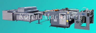 Full Auomatic Cylinder Screen Printing Press from Koten Machinery Industry Co.,Ltd.