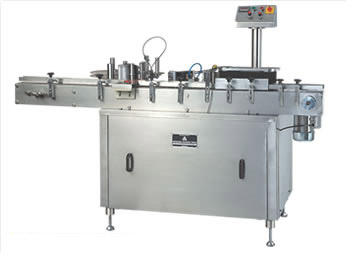 AUTOMATIC STICKER LABELLING from Denmark Machine Tools