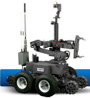 Remotec ANDROS Mark V-A1 Robot  from Northrop Grumman.