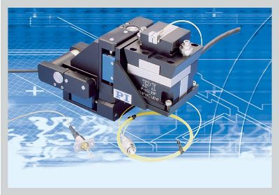 XYZ Precision Positioning System for Automated Fiber Alignment from PI