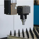 Gantry Robot  Part Load/Unload Of Lathe from Güdel AG.
