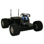 4WD WiFi Controlled ATR from SuperDroid Robots Inc.