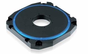 精密旋转定位器具有低轮廓和高速压电电机- M-660从PI