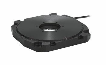 精密旋转定位器具有低轮廓和高速压电电机-U-651从PI