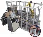V 30 Vertical Robotic Case Packer from ESS Technologies, Inc.