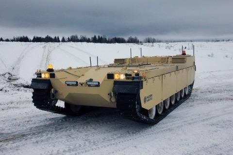 Milrem Robotics' Type-X Robotic Combat Vehicle to be Exhibited at IDEX 2021