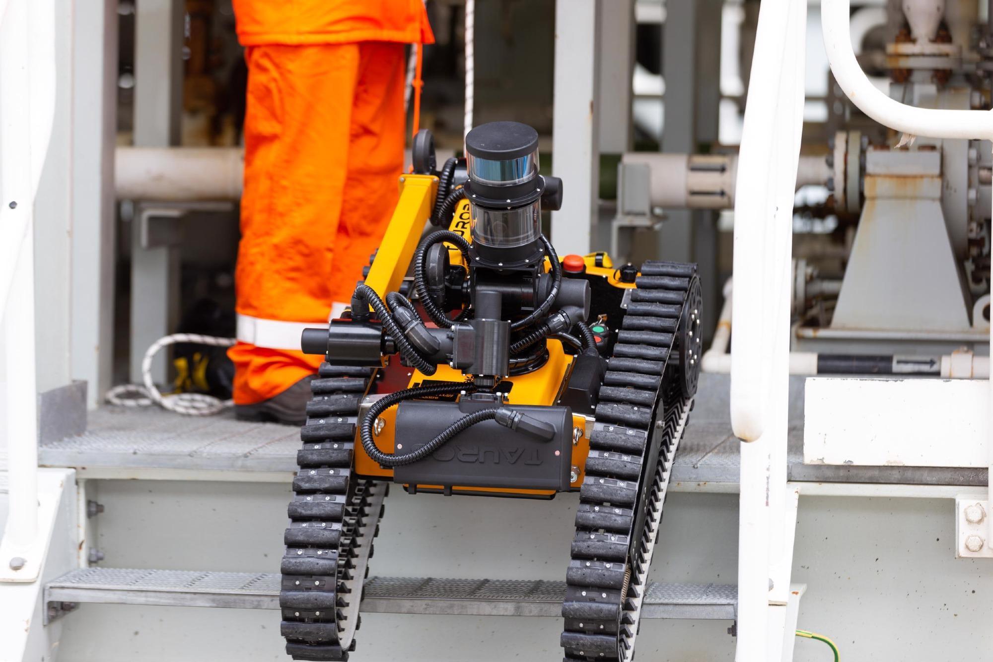 Taurob和Equinor在挪威的离岸平台上引入自治机器人