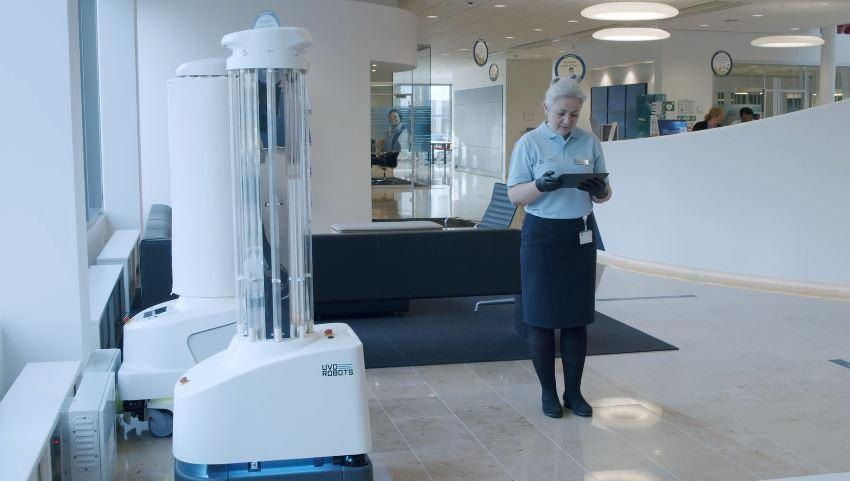UVD Robots Selected by Global Facility Management Company ISS to Provide Autonomous Disinfection Robots
