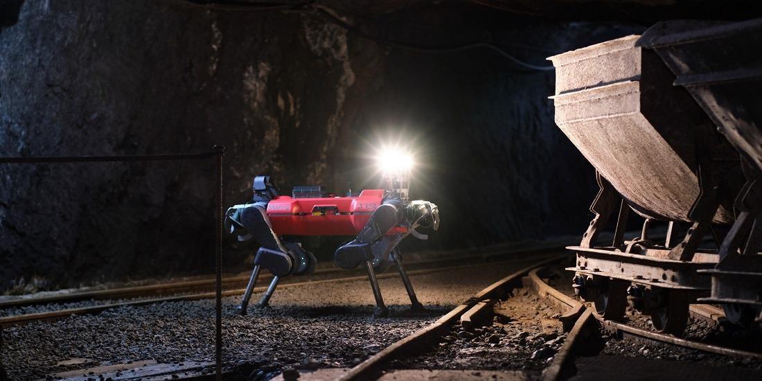 NTNU-Led Team CERBERUS Wins $2 Million Subterranean Robots Competition