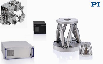 New Controllers for PI's 6-Axis Robotic Parallel Positioners