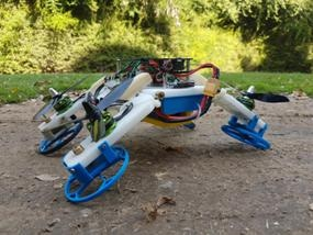 Researchers Develop First Experimental Robot Drone that Flies Like a Typical Quadcopter