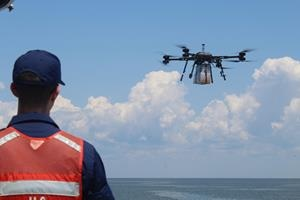 Successful Testing of Drones Transporting Supplies to Troops