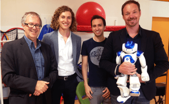 Swinburne Project Involved in Developing NAO Robot Software Shortlisted for National Disability Awards