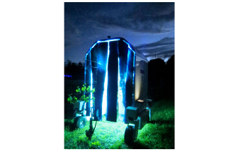 UV Lamp-Fitted Robots Effective at Killing Powdery Mildew in Vineyards