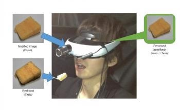 New Augmented Reality System Helps Manipulate Taste Perception of Food