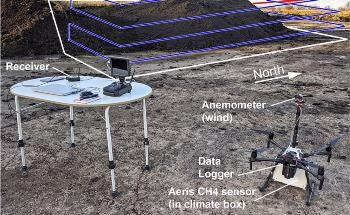 Drone Mapping of Methane Emission Hotspots