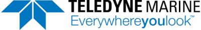 Teledyne Marine logo.